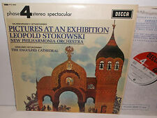 PFS 4095 Mussorgsky Pictures At An Exhibition New Philharmonia Stokowski HP TAS