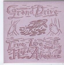 (FG598) Grand Drive, True Love & High Adventures - 2001 DJ CD + Concert Ticket
