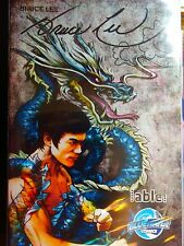 Bruce Lee Comic Book Tribute Signed 19/25