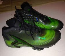 NIKE BASKETBALL GREEN/BLACK MEN SHOES FLIGHT ZOOM AIR SIZE 9.5 # 587561-001