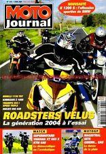 MOTO JOURNAL 1615 KTM LC4 640 DUCATI 966 BENELLI TNT KAWASAKI Z1000 TRIUMPH 955