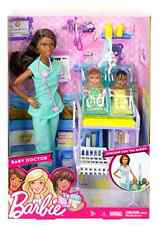 Barbie Careers African American Baby Doctor Doll And Playset Character Role Play