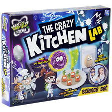 The Crazy Kitchen Lab Weird Chemistry Science Set - Educational Toy Gift 44-0090