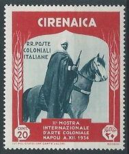 1934 CIRENAICA ARTE COLONIALE 20 CENT MNH ** - K019