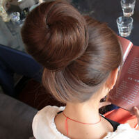 New Bridal Party Synthetic Hairpiece Hair Bun in/on wig Extention