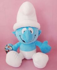 42CM LARGE GROUCHY THE SMURFS PLUSH DOLL SOFT BEAR KID CHILD STUFFED ANIMALS TOY