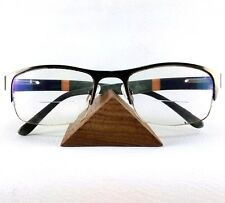 Triangle Holder Display Wooden Rack glasses Organizer Sunglasses Showing Stand