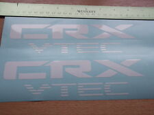Civic CRX VTEC Sticker/Decal x2