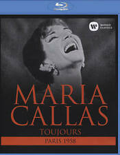 Maria Callas - Toujours Paris 1958 New Blu-ray
