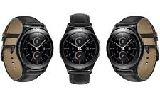 New SAMSUNG Galaxy Gear S2 Classic Smartwatch - Black Leather