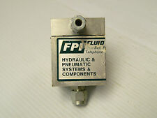FPI FLUID POWER INC HYDRAULIC RELIEF VALVE 1012-AS433 1012AS433