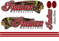 INDIAN MOTORCYCLE semi trailer DECAL SET