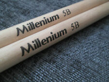 NEW MILLENIUM 5B pair of WOOD DRUM STICKS DRUMSTICK