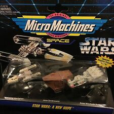 Star Wars A New Hope Vehicles 1994 Micro Machines Action Fleet #65860 Boxed New