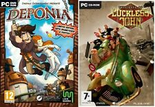 Deponia Limited Edition & The Evil días de haberle John Nuevo y Sellado