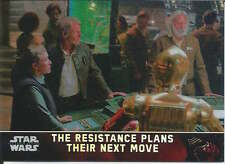 Resistance Plans Move 2015 Topps Chrome Star Wars Force Awakens refractor card