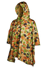 AUSCAM DCPU NYLON RAIN PONCHO - Great for scouts and cadets !!!