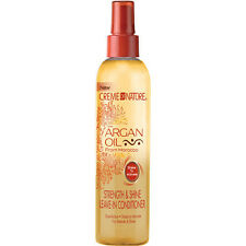New Creme Of Nature Morocco Argan Oil Strength Shine Leave-in Conditioner 8.5oz