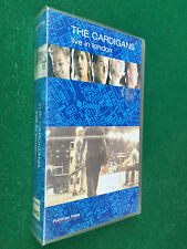VHS FILM MUSIC CONCERT - THE CARDIGANS LIVE IN LONDON (1997) 054 0903