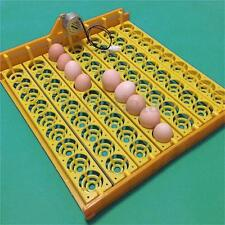 63 Eggs Automatic Turner Hatch Chicken Duck Quail Bird Poultry Tray Incubator