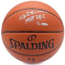 """ALLEN IVERSON Autographed """"MVP 2K1"""" Spalding Basketball UDA LE 30"""