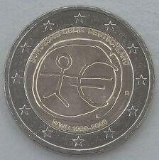 """2 Euro Deutschland D 2009 """"10 Jahre WWU"""" unz"""