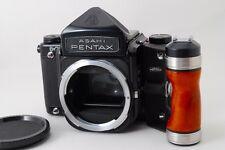 **Near Mint** Pentax 6X7 67 Medium Format SLR Film Camera Body W/Grip from Japan