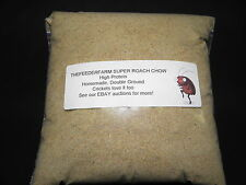 Roach Chow Super Berry Mix 2 lbs. High Protein Food For Dubia And Crickets!