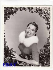 Cyd Charisse busty Christmas VINTAGE Photo