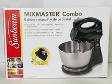 Sunbeam Mixmaster Combo Hand & Stand Mixer FPSBHS0302 NEW 5 Speed 2.1 Amps