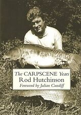HUTCHINSON ROD LITTLE EGRET PRESS FISHING BOOK CARPSCENE YEARS hardback NEW