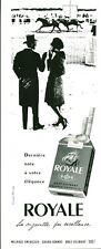 """Publicité Ancienne """" Cigarette Royale  1959 """" ( P 33 )"""
