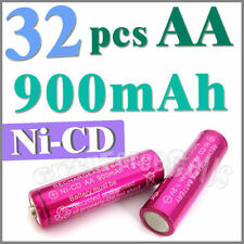 32 AA Ni-Cad Cd Solar Light rechargeable battery Rose