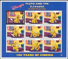 Maldives 1996 disney/films/cinema/pluto/chiens/animaux/animation 9v sht (d00234v)