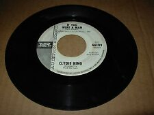 """CLYDIE KING if you were a man / thrill is gone ( r&b ) 7"""" / 45 - imperial PROMO"""