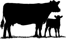 Cattle Decal ST#16 Livestock Ranch Cow Bull Window Stickers