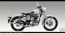 Customised Off-Roader Free Flow Silencer/Exhaust for Royal EnfieldClassic Bullet
