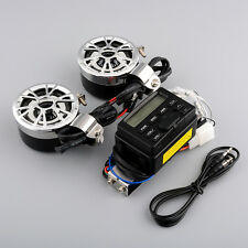 Hot Motorcycle Radio System FM 2 Speakers For Yamaha Motorbike Bike 12V
