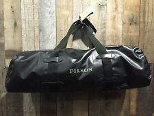 FILSON Zip-Top Large Dry Duffle Bag Black NEW!