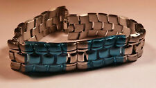 """Movado Ladies' Band, S/Steel with pins/ends- Approx 6"""" length. watch part"""