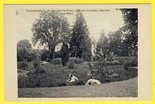 cpa Environs de DIJON (Côte d'Or) COMMANDERIE de NORGES par RUFFEY Parc Chiens