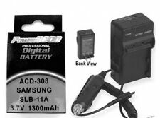 Battery + Charger for Samsung TL240 TL500 TL-500