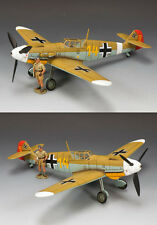 AK071(SL) Hans0Joachim (Jochen) Marseille & his Bf 109 by King and Country