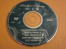 FORD LINCOLN MERCURY NAVIGATION SYSTEM DVD OEM MAP VERSION 3P