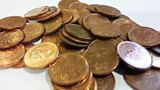 FULL ROLL 2007 MAGNETIC CANADA ONE CENT PENNIES CIRCULATED