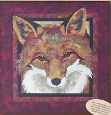 Red Fox applique quilt pattern by Toni Whitney of Toni Whitney Designs