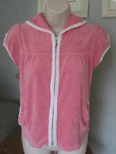 Juicy Couture coverup womens size X Small P swimwear pink Terry cloth beach pool