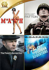 MASH/Patton/The French Connection/The Poseidon Adventure (DVD, 2015, 4-Disc Set)