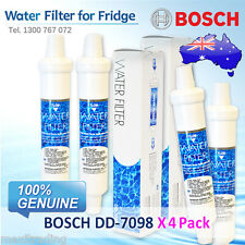 4 Pack X Bosch EXTERNAL FRIDGE FILTER  FOR KAN58A40AU/03 and More Others  DD7098