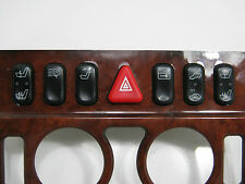 MERCEDES HEATING SWITCHES,HAZARD WARNING SEAT CONTROL DOOR LOCK 1, 2,4, 5, pins